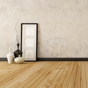Wood floorboard flooring